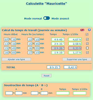 calculette mauricette